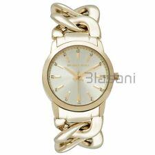 Michael Kors Original MK3608 Womens Elena Chain Gold Stainless Steel 35mm Watch