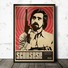 MARTIN scoresese art poster film CINEMA FILM KUBRICK DE PALMA Quentin Tarantino