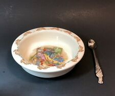 Royal Doulton Bunnykins Bowl and Spoon for Baby