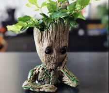 Baby Groot Planter Tree Man Pens Flower Pot Plant Guardians of The Galaxy Gift ✅
