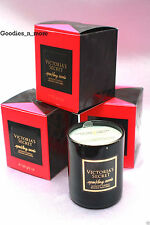 3 Victoria's Secret SPARKLING WOODS Small Scented Candles (New in box) 2 oz