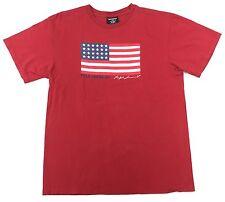 Vintage 90's POLO Jeans USA Flag T-Shirt Size M / L Ralph Lauren
