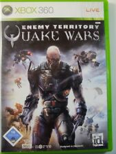 !!! Xbox 360 Jeu Quake Wars Enemy Territory d'occasion, mais bien!!!