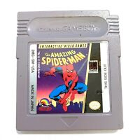 The Amazing Spider-Man ORIGINAL Nintendo Game Boy Game Tested WORKING Authentic!