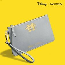 Genuine Pandora DISNEY Mickey Mouse Grey Clutch Bag/Purse Limited Edition