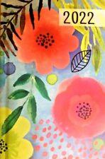 2022 Floral Day Planner Daily Organizer Calendar Password Log New 6x4 Free Sh
