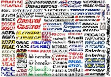 Decals Racing Stikers 1/10--1/8--D1
