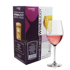 WINEBUDDY Home Brew Wine Kit Refill 7 Day 30 Bottle - WHITE ZINFANDEL (ROSE)