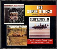 THE SUPER STOCKS - THE COMPLETE RECORDINGS   2 CD  1996  ONE WAY RECORDS