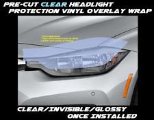 Head light Protector Overlay for 2015 - 2018 Chrysler 200 four door sedan