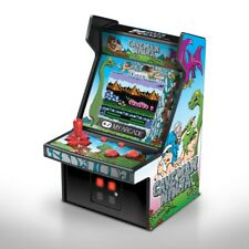 "MY ARCADE Caveman Ninja: Joe & Mac 6"" Micro Arcade Machine Portable Video Game"