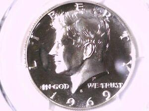 1969 S Proof Kennedy Half Dollar PCGS PR 69 CAM 36027588
