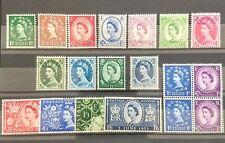 british stamps 1952/1953