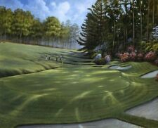 Azalea Hole Golf Course by Ron Jenkins Art Print Golfing Club Poster 16x20