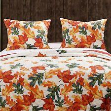 Barefoot Bungalow Falling Leaves Reversible Cotton Pillow Sham Multicolor
