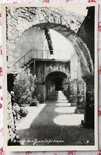 Vintage UNUSED RPPC Real Photo Postcard Mission San Juan Capistrano, California