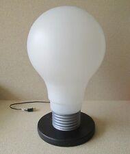 "1x Oversized Large 22"" tall POP ART LIGHT BULB Blow Mold Electric Lamp Lights Up"