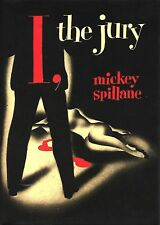 MICKEY SPILLANE - I, THE JURY - SIGNED FIRST EDITION 1975 Reissue Facs Slipcase