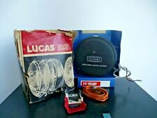 NOS LUCAS FT9 FOG LAMP WITH COVER SILVER SABRE RALLY RACING