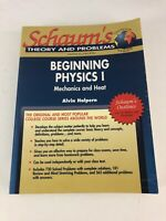 Beginning Physics I : Mechanics and Heat- Alvin Halpern (1995, Paperback)