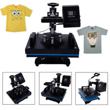 Transfer Sublimation T-Shirt Heat Press Machine with LCD Temperature Control US