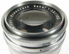 105mm f3.5 Schneider Xenar - for Exakta Bellows - Nice
