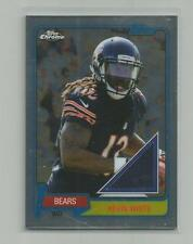2015 Topps Chrome  KEVIN WHITE  Rookie 60th Anniversary Jersey