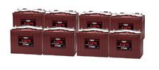 8x Trojan T1275 Batterie de Golf Solaire Loisir 12V 150Ah