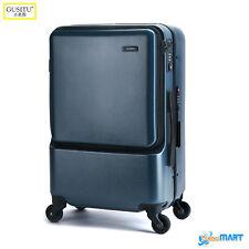 Gusitu Luxury Suitcase Super Lightweight 4 Wheel Spinner Luggage Trolley Case UK