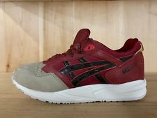 ASICS GEL SAGA BURGUNDY DARK BROWN CASUAL RUNNING MENS  SZ 7.5  H41VK-2628