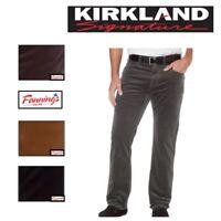 NEW! Men's Kirkland Signature 5 Pocket Corduroy Pants Standard Fit VARIETY D41