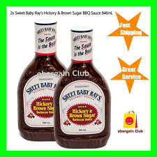 2x Sweet Baby Ray's Hickory Brown Sugar Barbecue Sauce 946mL BBQ eBargainClub