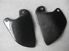 Carbon Fibre Heel Guards = Fits Ducati 748  916  996  998
