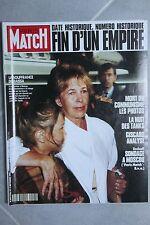 Paris Match 2206 URSS Mort du Communisme Hallyday Verneuil Pfeiffer Jugnot