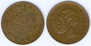 Rumänien 2 Bani 1900 B  fast stempelglanz