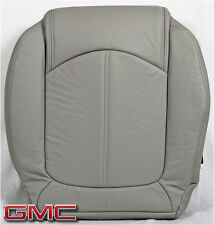 2011 2012 GMC Acadia SLT-1 SLT-2 -Driver Side Bottom LEATHER Seat Cover Gray