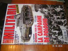Armes Militaria HS n°37 1939 Campagne de Pologne