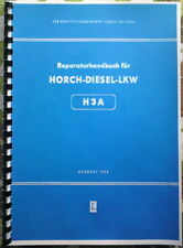 Reparaturhandbuch Horch H3A S4000 W50 L60 Robur W 50 L 60 NVA Fortschritt IFA