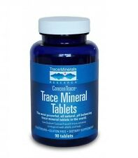 Trace Mineral Research Tablets 90 Count