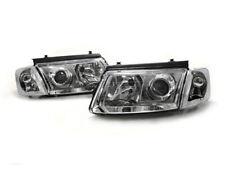 B5 Euro Projector Headlight w/ Cornering Feature For 97-01 VW Passat - Chrome
