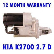 KIA K2700 2.7 D 1999 2000 2001 2002 2003 - 2015 REMANUFACTURED STARTER MOTOR