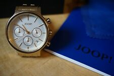 Designeruhr Armbanduhr JOOP! Chronograph Carla *gebraucht mit OVP gold