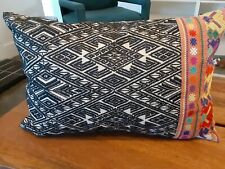 "Pottery Barn  14 x 20"" lumbar Toss Pillow EXCELLENT! With polyester insert"