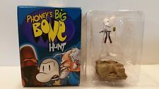 Phoney's Big Bone Hunt mystery figurine Smiley Bone 2001 Jeff Smith with box