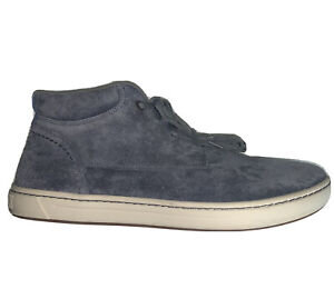 BIRKENSTOCK Dundee Bend Gray Suede Chukka Style Sneaker Mid Shoes Mens 11-11.5