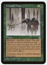 MTG X1: Constant Mists, Stronghold, U, Moderate Play - FREE US SHIPPING!