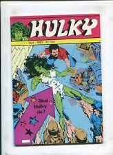 """FOREIGN SHE-HULK #4 - """"SKAL HULKY DO?!"""" - (6.0) 1983"""