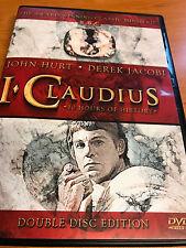 I CLAUDIUS : COMPLETE SERIE - DVD BOX SET - 10 UUR - sealed DEREK JACOBI  BBC