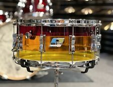 More details for ludwig vistalite tequila sunrise 14 x 6.5 snare drum #641