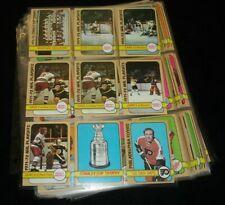 1972-73 Topps Hockey Complete Set of 176 - NM w/ Orr Esposito Dryden Mikita